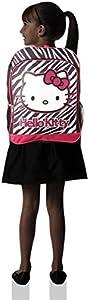 FAB Starpoint Little Girls' Hello Kitty Black and White Zebra Backpack