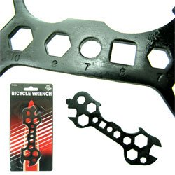 New Trademark 15 In 1 Bicycle Wrench As Seen On Tv Coated Steel To Prevent Corrosion