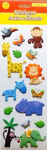 Animal Baby Shower Favors front-1039615