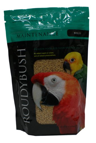 Roudybush Daily Maintenance Bird Food, Nibles, 22-Ounce