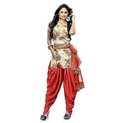 Triveni Women's Crape Salwar Kameez Dress Material (TSHCSSK6754A_Multi)