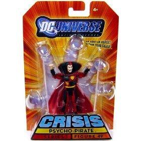 Picture of Mattel DC Universe Infinite Heroes Crisis Series 1 Action Figure #49 Psycho-Pirate (B002VT2U6U) (Mattel Action Figures)
