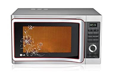 LG MC2881SUP 28-Litre 3100-Watt Convection Microwave Oven (Floral Pattern)