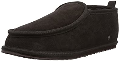 Emu Mens Bubba Slippers M10048 Chocolate 9 UK, 43 EU, 10 US, Regular