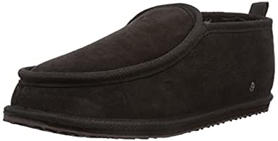 Emu Mens Bubba Slippers M10048 Chocolate 11 UK, 45 EU, 12 US, Regular