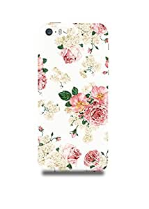 Vintage Floral Pattern iPhone SE Case