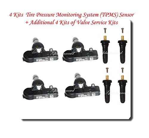 SET OF FOUR (4) JEEP CHRYSLER DODGE RAM TIRE PRESSURE SENSORS TPMS 56029398AB Model: Car/Vehicle Accessories/Parts (2012 Dodge Ram 1500 Tpms compare prices)