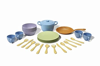 Green Toys Cookware and Dining Set from Green Toys
