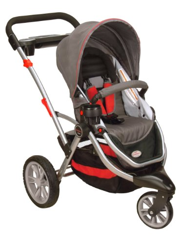 Contours Options 3 Wheeler Stroller II, Cinnamon