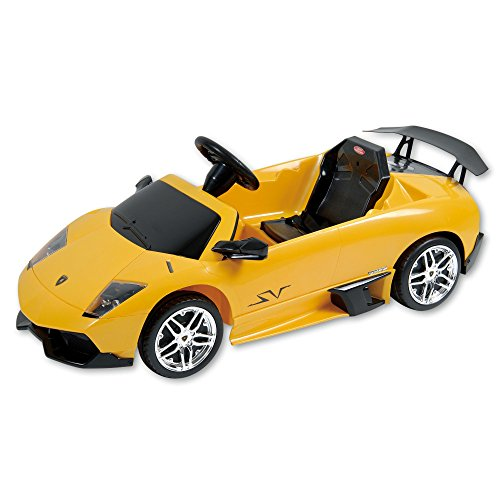 Dexton Lamborghini Murcilago 12-Volt Battery-Powered Ride On, Yellow