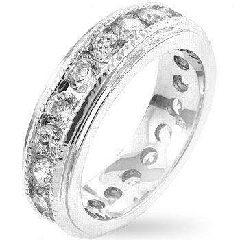 ISADY Paris Ladies Ring CZ Diamond Florence