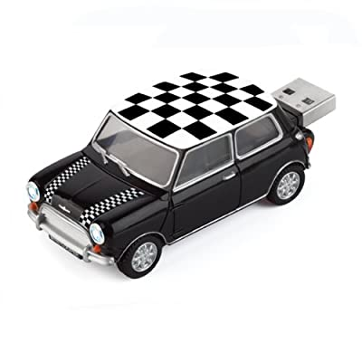 4GB CHEQUERED Mini Cooper USB Flash Memory Drive by JellyFlash