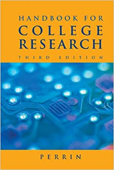 writing the research paper a handbook 2009 mla updated edition