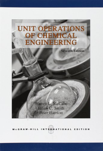 Unit Operations of Chemical Engineering (Int'l Ed)