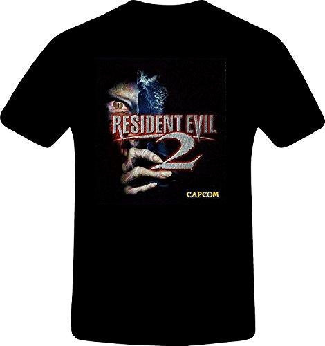 Resident evil 2, Custom Tshirt (L, BLACK) (Resident Evil 2 Ps3 compare prices)