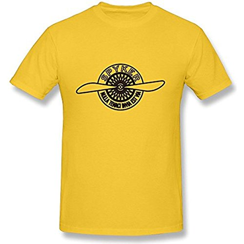 flytian-mens-luxury-f1-super-sports-car-spyker-c8-brand-logo-tees-yellow