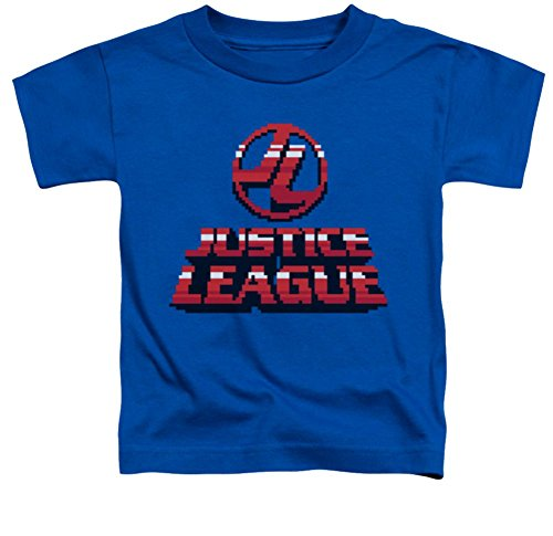 Justice League 8 Bit JL Toddler T-Shirt