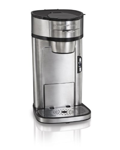 Hamilton Beach 49981A Single Serve Scoop Coffee Maker (Coffee Maker 1 Cup At A Time compare prices)
