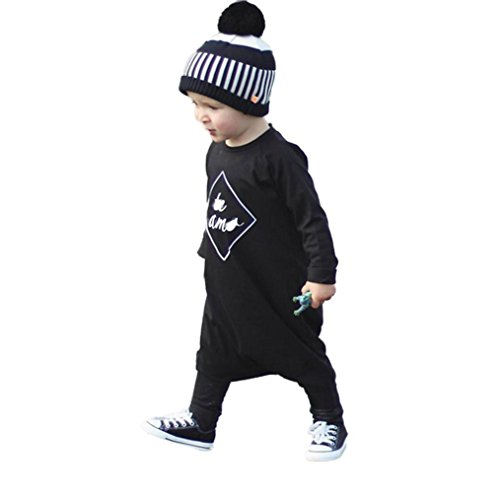 [FEITONG Newborn Infant Baby Boy's Romper Jumpsuit Bodysuit Outfit Clothes (24 Months)] (Baby Designer Clothes)