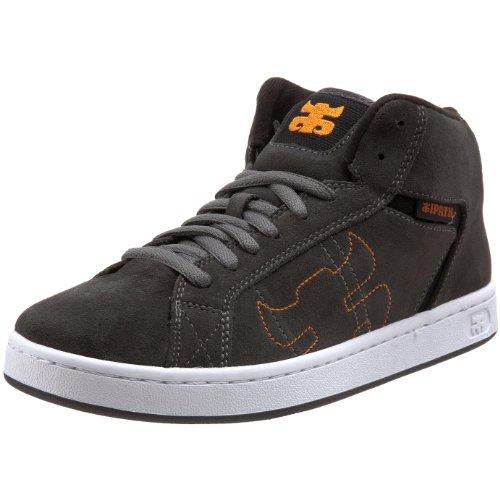 IPATH Men's Stash Mid Skate Shoe,Gunmetal,5 M US