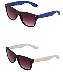 Benour BENCOM006 Combo Unisex Sunglasses