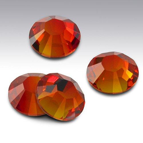 Fire Opal 237 cristallo Swarovski con pietre, misura piccola, confezione da 9 pezzi, 3,2 mm (confezione da 55 Ss12)