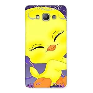 Ajay Enterprises Delight Cute Tweet Back Case Cover for Galaxy A7