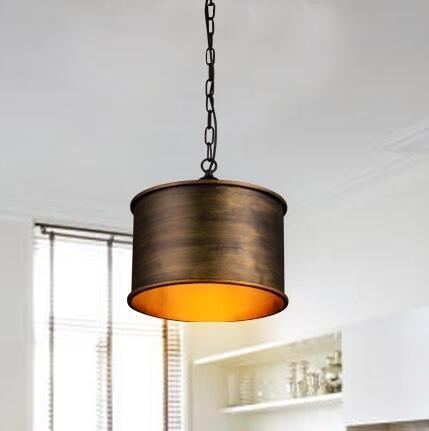 TYDXSD Vintage industrial viento nórdico comedor creativo conjunto araña de bronce antiguo y plata forja dormitorio almacén 350 * 300 m m