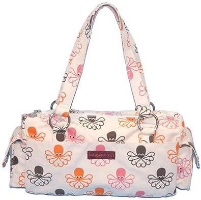 Bungalow360 Barbie Octopus Vegan Canvas Satchel Bag