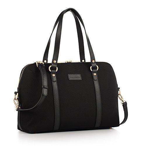 chiceco-satchel-handtasche-damen-umhangetasche-aktentasche-fur-13-zoll-laptop-dateien-bucher-schwarz