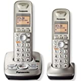 Panasonic KXTG4222N DECT 6.0 2-Handset High Quality Phone System with Answering Capability