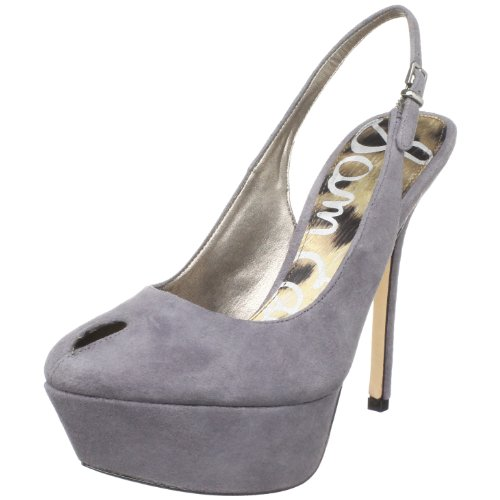 Sam Edelman Womens Novato Peep-Toe Pump