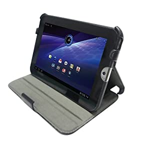 Poetic(TM) Stand Case with Angle Adjustable with HandStrap for Toshiba Thrive 7-Inch Tablet (3 Year Manufacturer Warranty From Poetic)