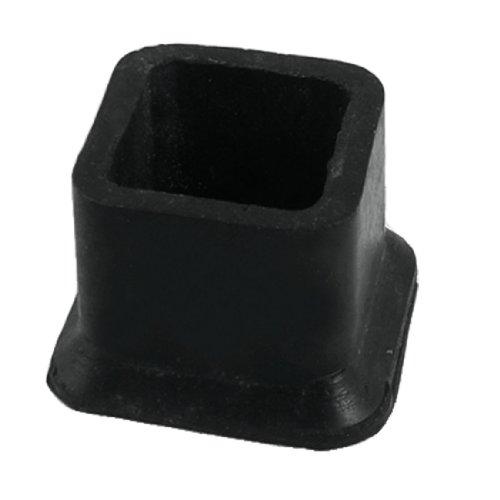 Furniture Black Rubber 1 1 4 X 1 1 4 Square Leg Protector Home Garden Household Supplies Floor