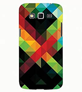ColourCraft Colourful Pattern Design Back Case Cover for SAMSUNG GALAXY GRAND 2 G7102 / G7106