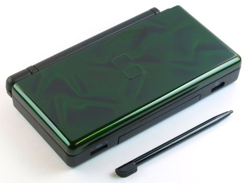 awardpedia 3d green nintendo ds lite complete full housing shell case replacement repair w. Black Bedroom Furniture Sets. Home Design Ideas