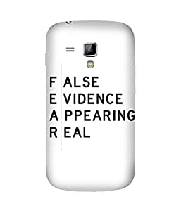 Fear Samsung Galaxy S Duos S7562 Case