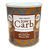 Big Train Low Carb Blended Ice Mocha Mix, 1.85 lb Can