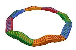 Happy Kids 8-Piece Wave Tactile Path