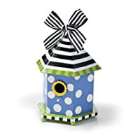 Silvestri Hits The Spot Dots And Daisies Blue Birdhouse