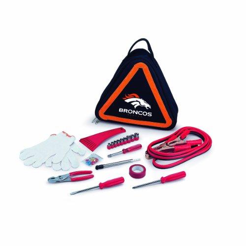 Nfl Denver Broncos Roadside Vehicle Emergency Kit
