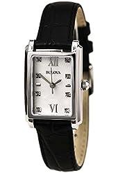 Bulova Women's Diamonds - 96P156 Black Watch