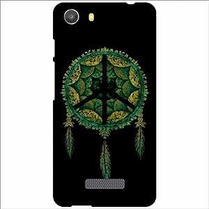 Micromax Unite 3 Q372 Back Cover - Silicon Tree Designer Cases