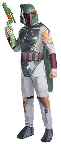 Rubie's Costume Co Men's Star Wars Classic Boba Fett Costume