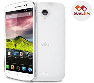 WIKO Cink Five blanc - GSM + Carte microSD 16 Go High Speed Class 10 + mini lecteur USB 2.0 + Wiko - Étui pour téléphone cellulaire - blanc
