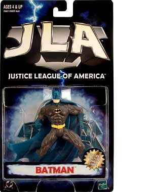 1998 JLA Dark Knight Batman in black Justice League of America action figure Rare!! at Gotham City Store