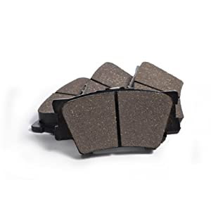 KFE Ultra Quiet Advanced KFE1212-104 Premium Ceramic Rear Brake Pad Set by KFE Brake Systems