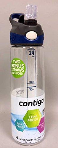 Contigo Addison Water Bottle, 24-Ounce, Clear front-752356