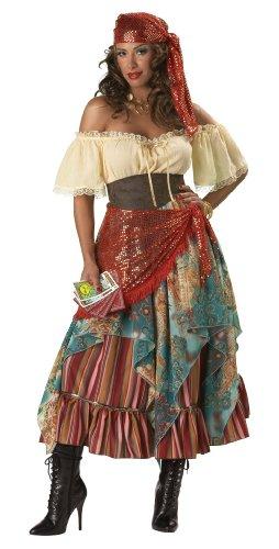 Homemade Gypsy Costume