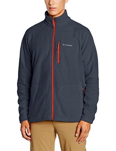 columbia-fast-trek-ii-full-zip-pile-blu-collegiate-navy-rust-red-m